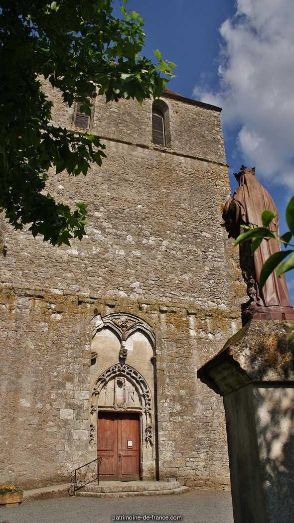 Eglise à St meard de gurcon.