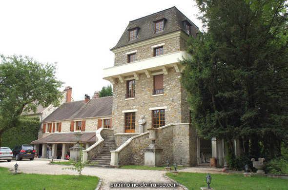 parc du manoir d'Ecosse-Bouton à Chevreuse.
