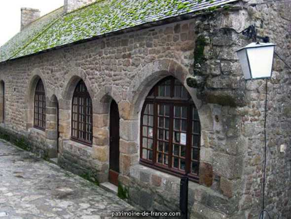 Maison de la Truie qui File à Le mont st michel.