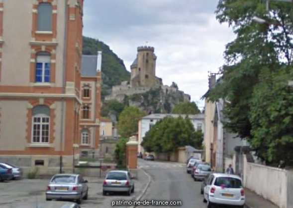 Castle, French Heritage monument to Foix.