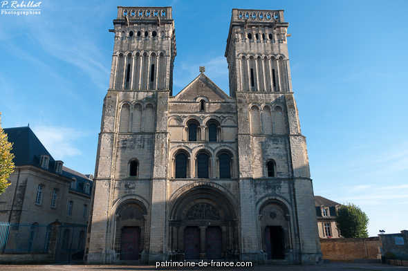 Former abbaye aux Dames, currently seat of the regional Council of Basse-Normandie, French Heritage monument to Caen.