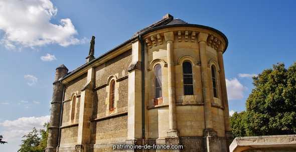 Chapelle Notre-Dame de Lourdes de Tête-Ronde à Menou.