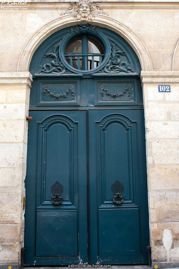 Hôtel de Sainte-Aldegonde à Paris 7eme arrondissement.