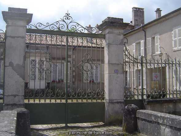 Choloy Castle, French Heritage monument to Choloy menillot.