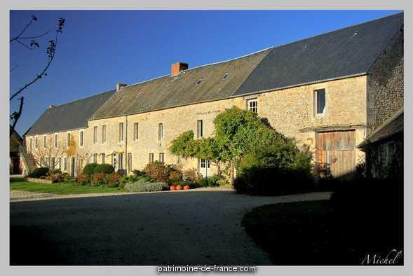 Ancien manoir de l'abbaye du Val Richer, dit Ferme de Foudenpant
