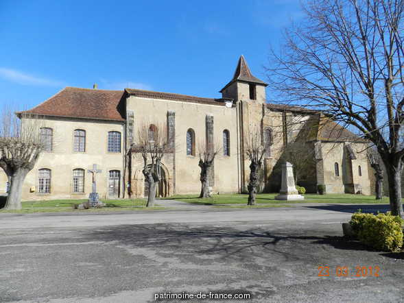 Old Abbey, French Heritage monument to St sever de rustan.