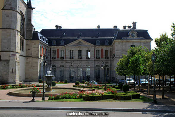 Abbatial Palace (old), French Heritage monument to Remiremont.