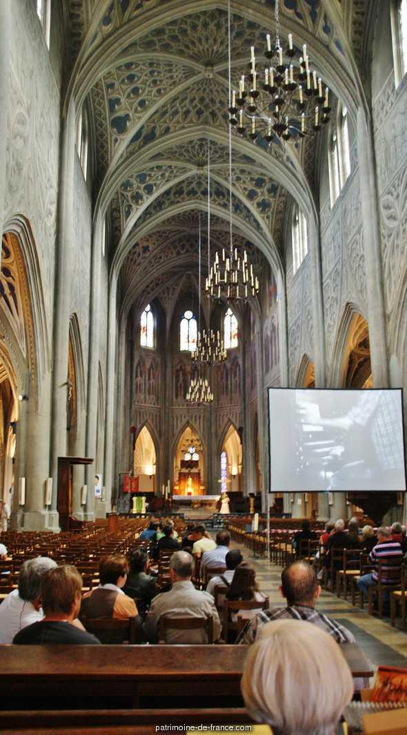 Cathédrale à Chambery.