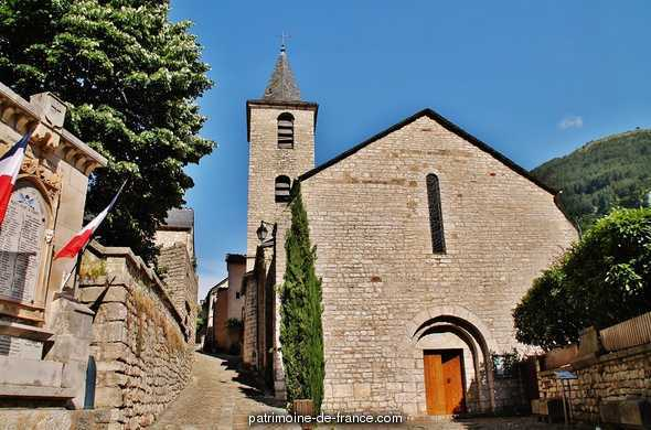 Church from Ste Enimie.