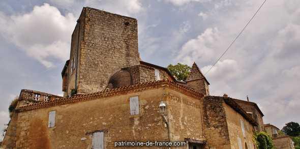 Château à Lachapelle.