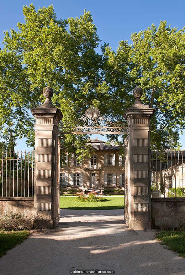 Domaine de la Grande Castelette, à Montfavet à Avignon.
