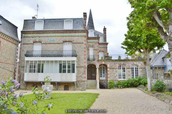 Maison de villégiature balnéaire dite villa Mercédès