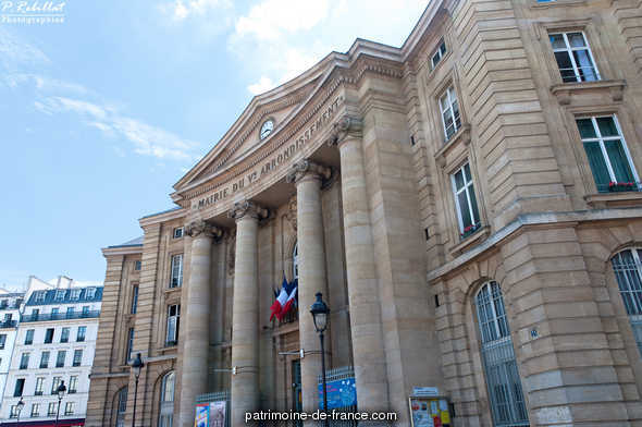 Town Hall annex of the fifth arrondissement, French Heritage monument to Paris 5eme arrondissement.