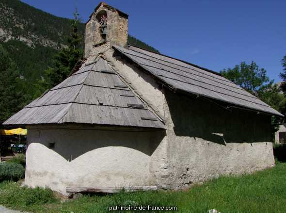 Chapelle Notre-Dame-des-Thanksgiving, French Heritage monument to Nevache.