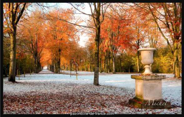 parc du château de Garcelles