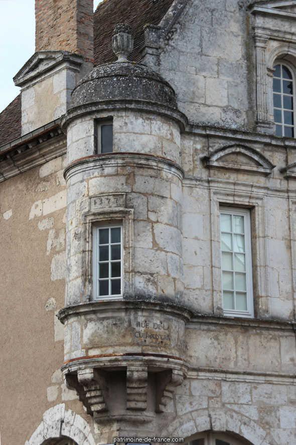 Maison du 16e siècle à Chateaudun.