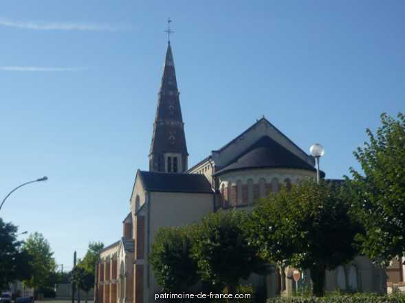 Eglise Paroissiale Sainte-Anne à Lamotte beuvron.