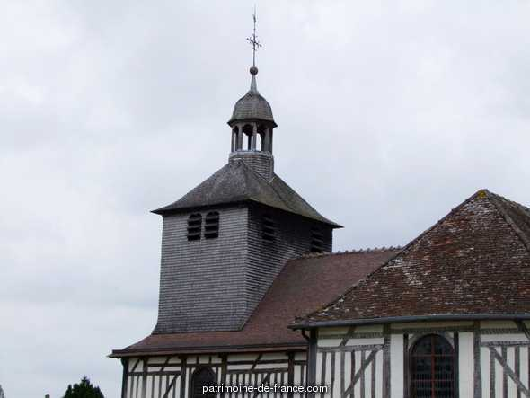 Church, French Heritage monument to Mathaux.