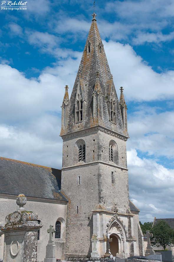 Eglise à Bricqueville.