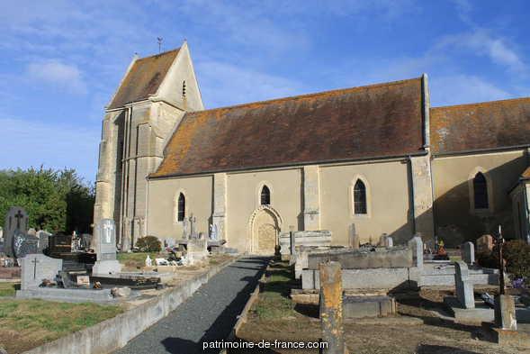 Eglise à Mondrainville.