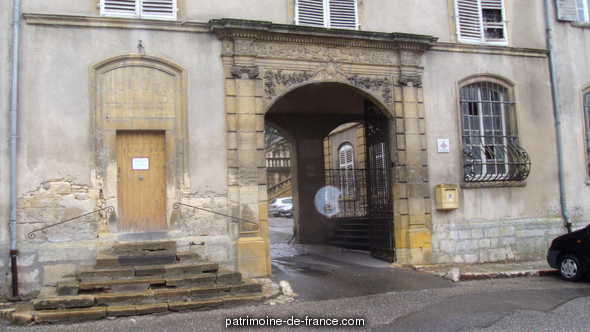 Former abbatial Palace, French Heritage monument to Gorze.