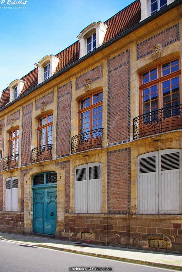 Hôtel particulier à Moulins.