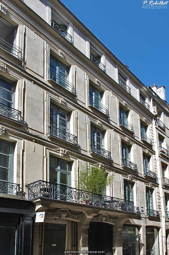 H tel de beligny ancien paris 6eme arrondissement paris for Agence immobiliere 6eme arrondissement paris