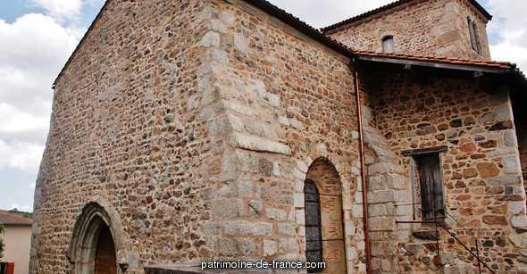 Eglise saint Barthélemy à Cherier.
