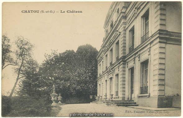 Demeure 2 avenue du Château de Bertin à Chatou.
