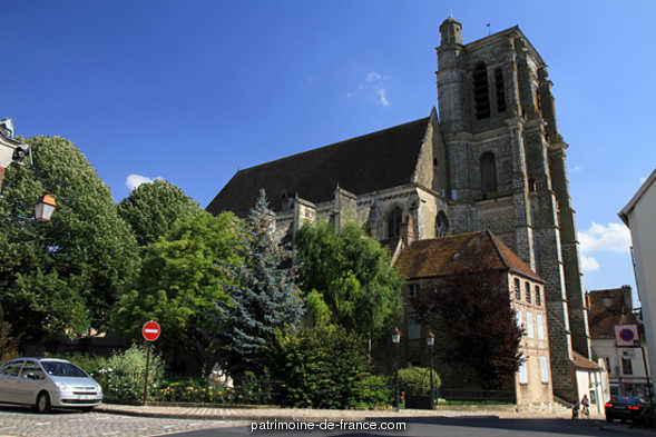 Church Saint-Denis, French Heritage monument to Sezanne.