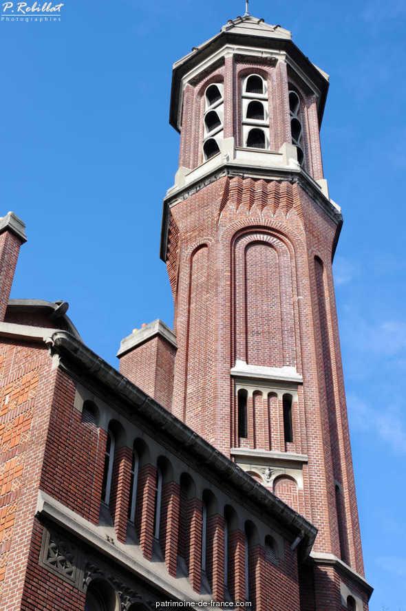 Eglise Saint-Christophe-de-Javel à Paris 15eme arrondissement.