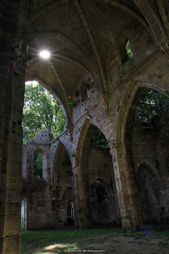 (Former) Abbey, French Heritage monument to Trois fontaines l abbaye.