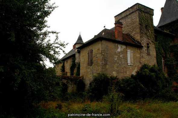 Château de Lézignac à Graulhet.