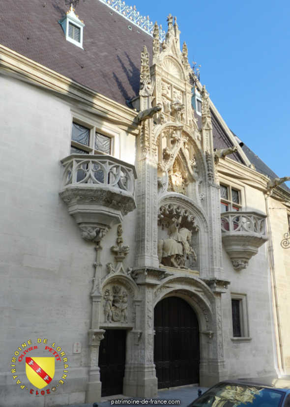 Former ducal palace, currently the Museum Lorraine, French Heritage monument to Nancy.