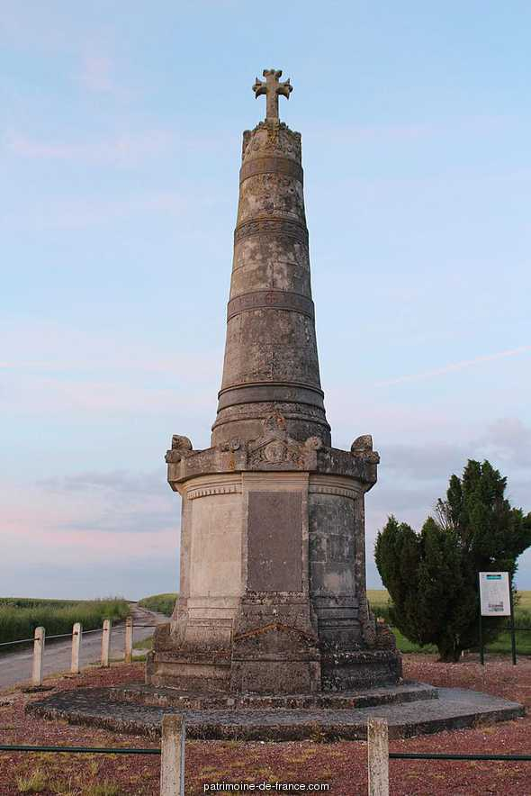 Column Faidherbe, French Heritage monument to Pont noyelles.