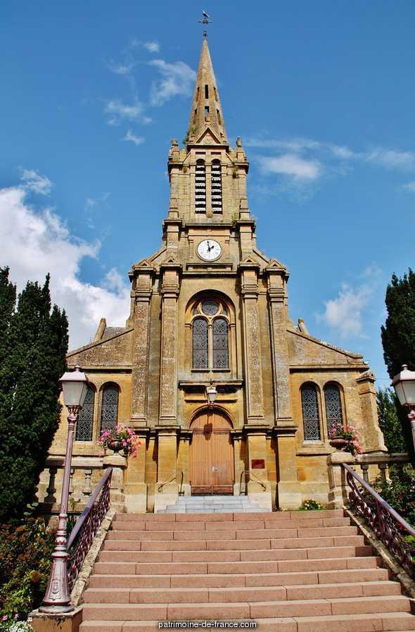 Eglise à Floing.