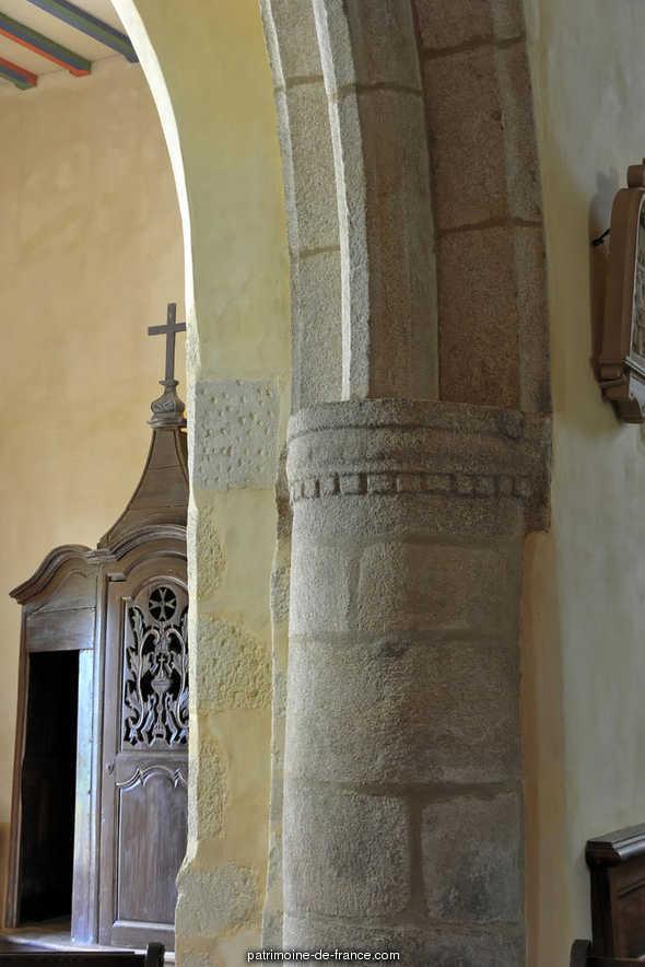 église paroissiale Les-trois-Marie DES TROIS MARIE à Cardroc.