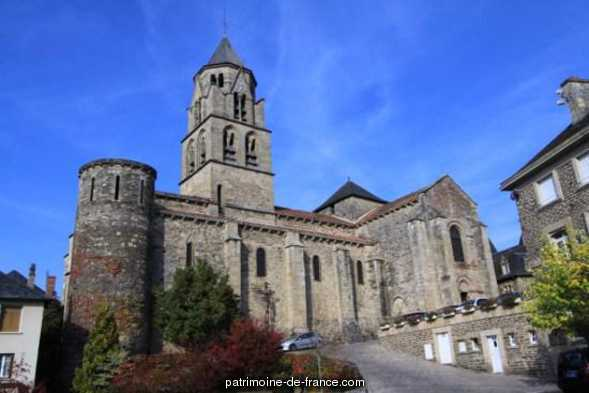 St. Peter's Church, French Heritage monument to Uzerche.