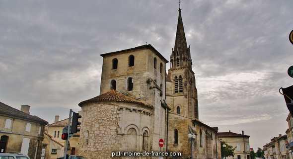 Eglise Sainte Radegonde à St medard de guizieres.