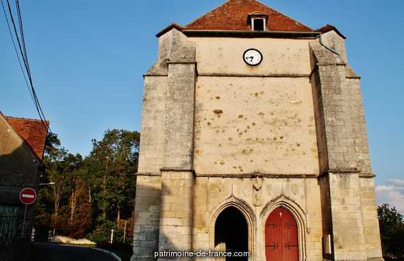 Saint-Baudel Church, French Heritage monument to St bouize.