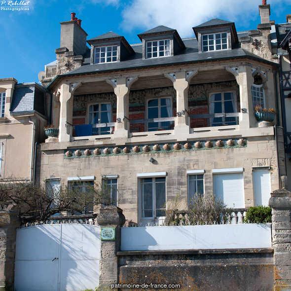 Maison Louis, known as Castel Louis, French Heritage monument to Lion sur mer.