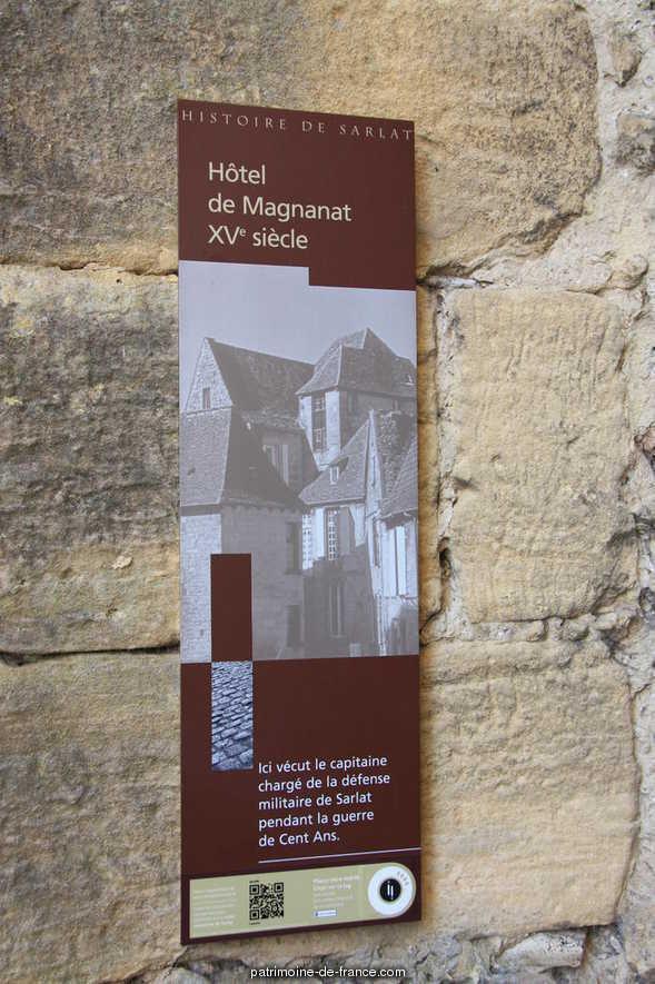 Immeuble 4 rue Magnanat à Sarlat la caneda.