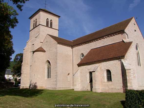 Eglise à Gevrey chambertin.