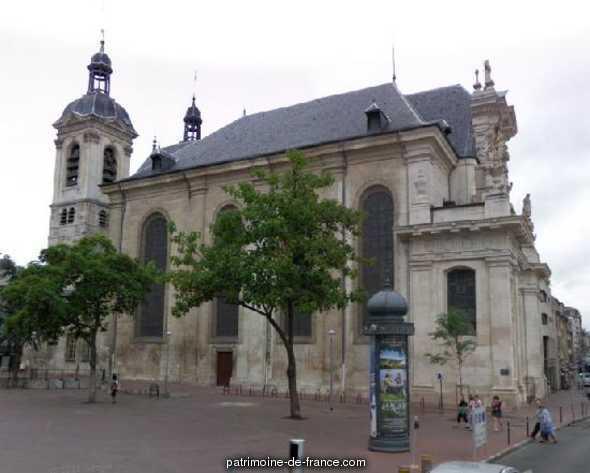 St. Sebastian's Church, French Heritage monument to Nancy.