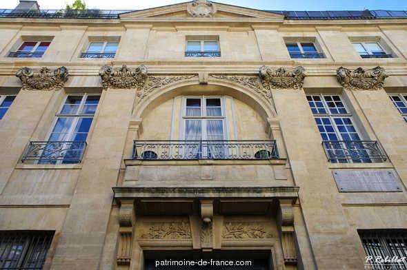 Hôtel de Sourdéac à Paris 6eme arrondissement.