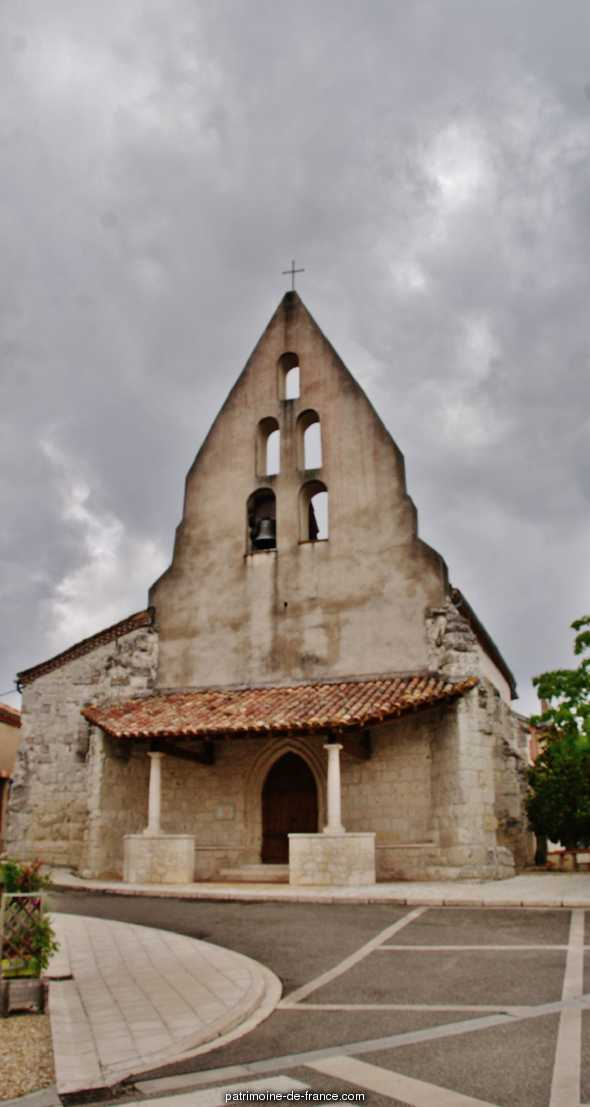 Eglise Paroissiale de la-Conversion-de-Saint Paul à St paul d espis.