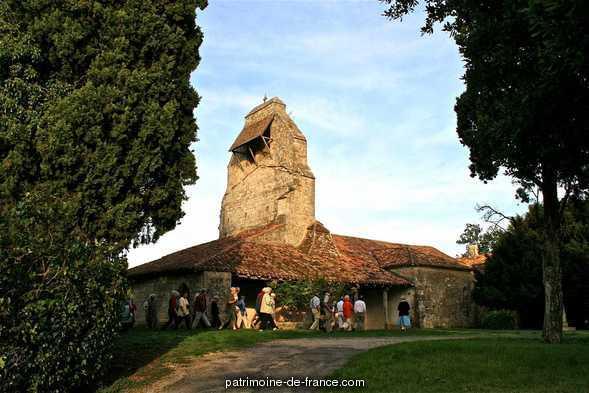 Eglise de Heux à Larroque sur losse.