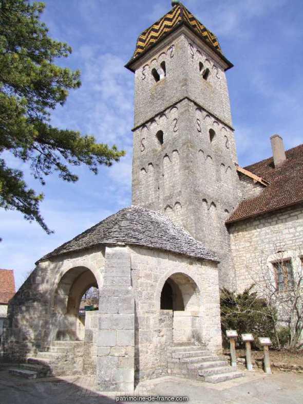 Eglise à Boussieres.