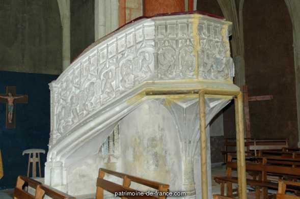 Eglise Notre Dame de l'Assomption à Boulogne sur gesse.