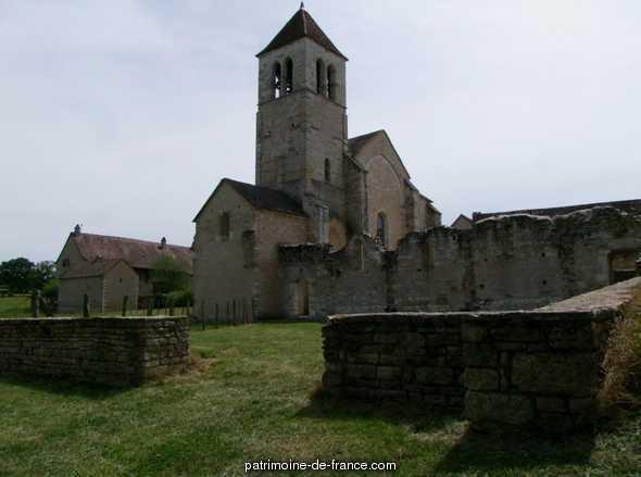 Eglise de Lancharre à Chapaize.